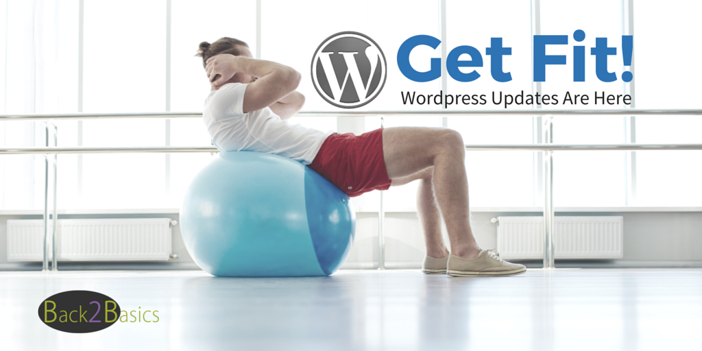 Get Fit - Wordpress Updates