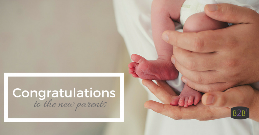 Congratulations - new baby