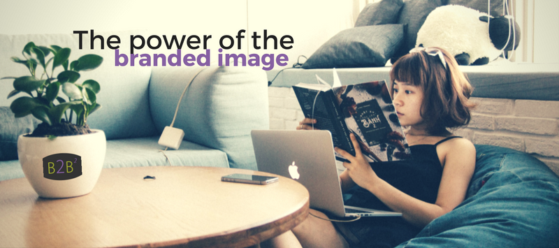 power of branded imagery in your blog with Back2Basics