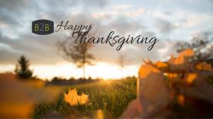 happy thanksgiving b2b 2016