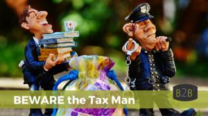 Beware of scams -beware the Tax Man
