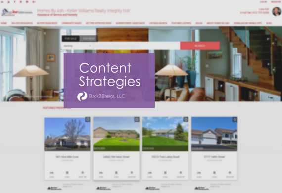 Homes by Ash Content Strategies