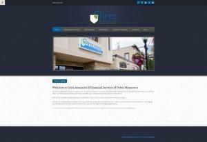 Girtz Insurance Website Before Design