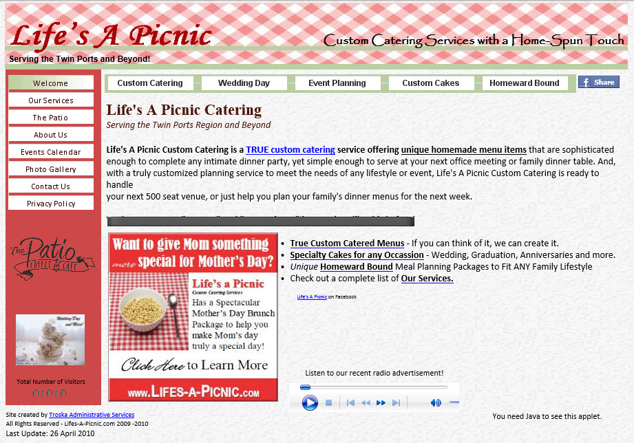 Life's A Picnic Catering