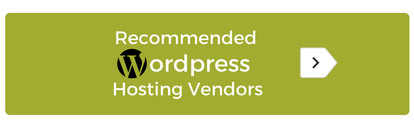 B2B Recommended Hosts for WordPress Website Designs