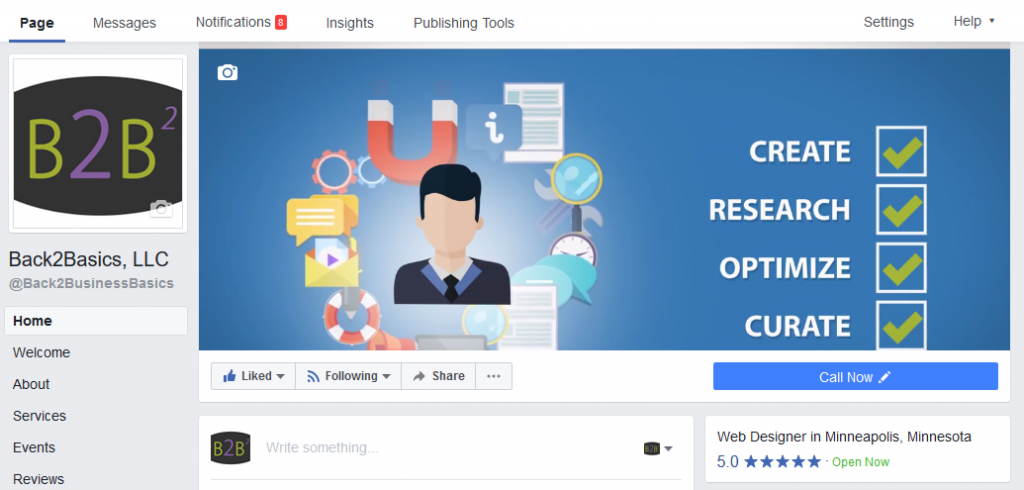Facebook Business Pages Add Video to Cover Space