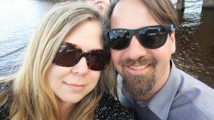 Back2Basics owner Tanya Troska & spouse