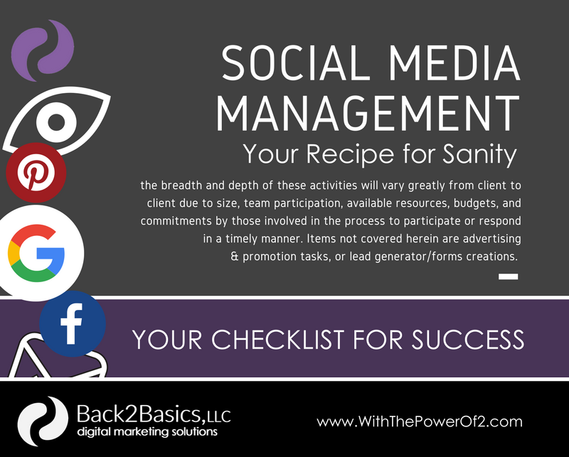 Social Media Management Task Planner