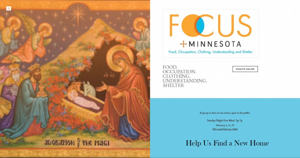 A Minneapolis-Based Non-Profit & Community In Need