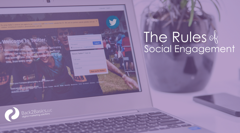 The Rules of Engagement - Twitter