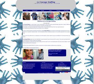 Le Courage Website Design Pre 2017