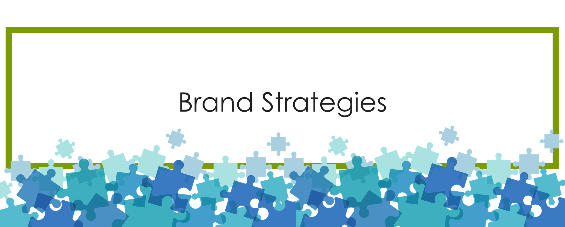 We are all About the Brand Strategies Puzzle