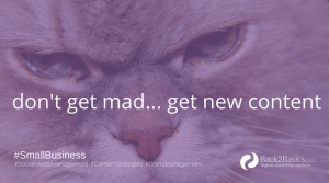 Back2Basics Content Strategies