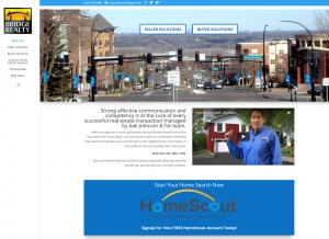 Joel Johnson real estate website
