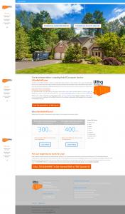 Ultra Rolloff website design preview