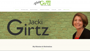 Jacki Girtz School Board website