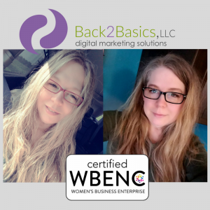 Back2Basics is Certified WBENC