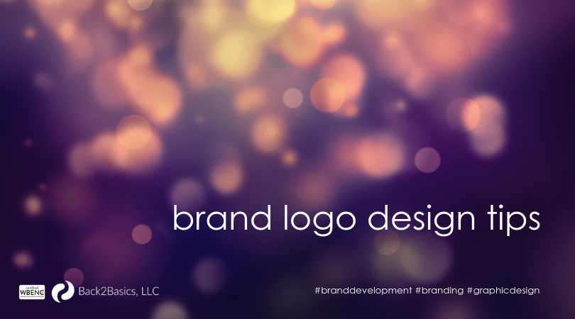 brand logo design with Back2Basics