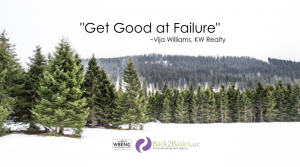 Get Good at Failure