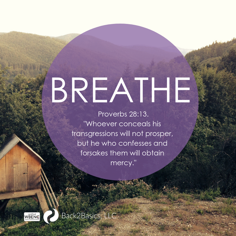 Breathe - Ask for Forgiveness
