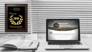 Back2Basics 2016 Best of Minneapolis Web Design Award