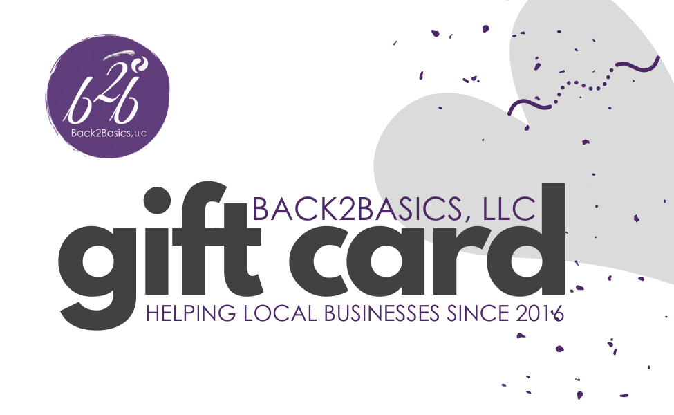 Back2Basics Gift Card