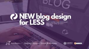 New Blog Design for Less