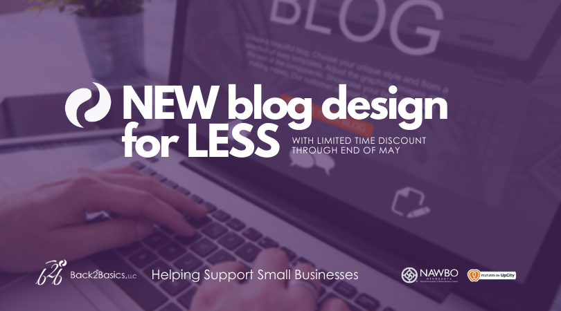 New Blog Design for Less
