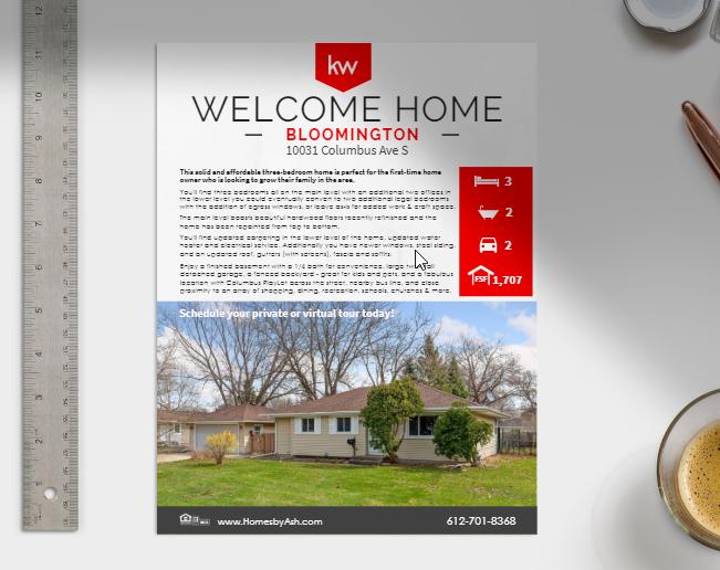 Lisa Ash - Property Flyer Example
