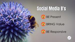 Three Social Media B's