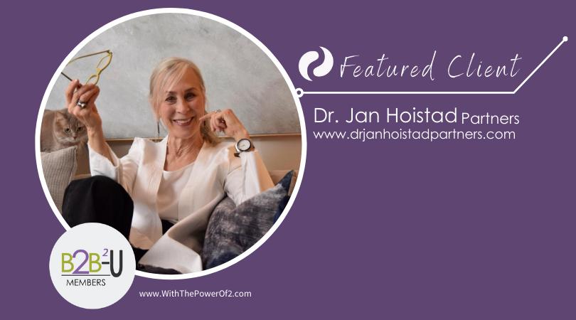 Client Spotlight, Meet Dr. Jan Hoistad