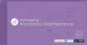 Wordpress Site with a Maintenance Plan