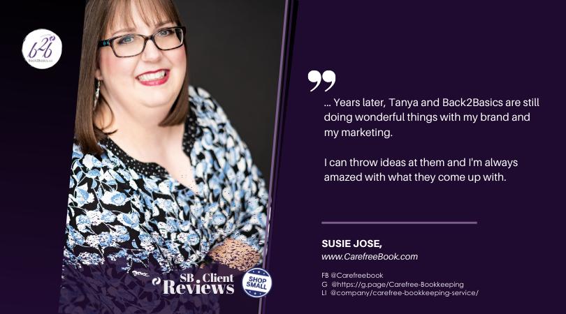 Susie Jose, Carefree Bookkeeping