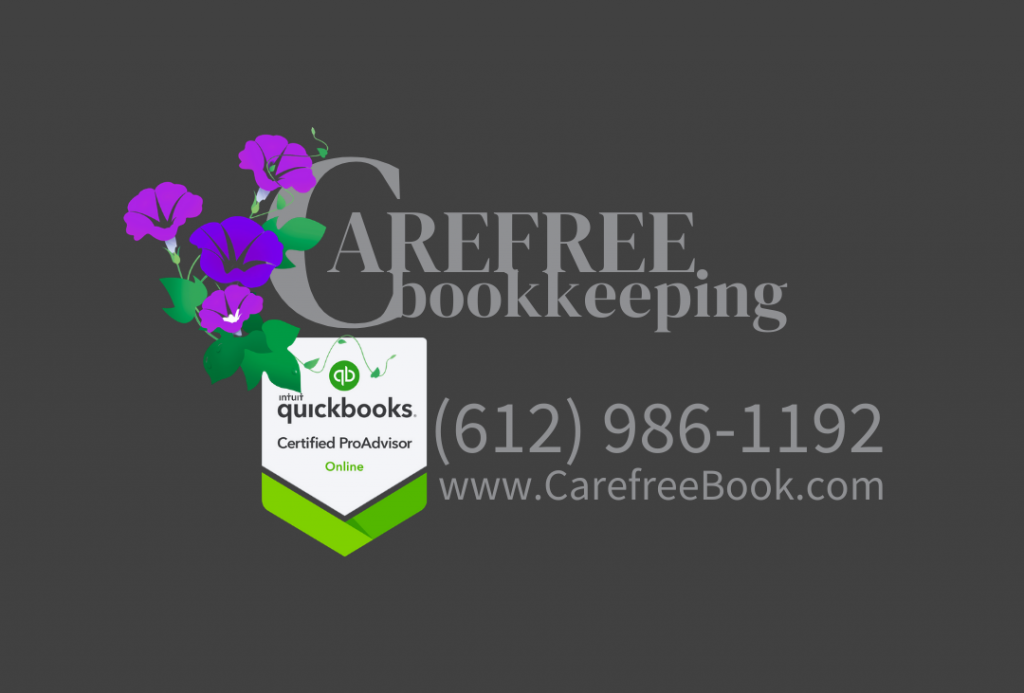 Carefree Bookkeeping New Logo Design 2020