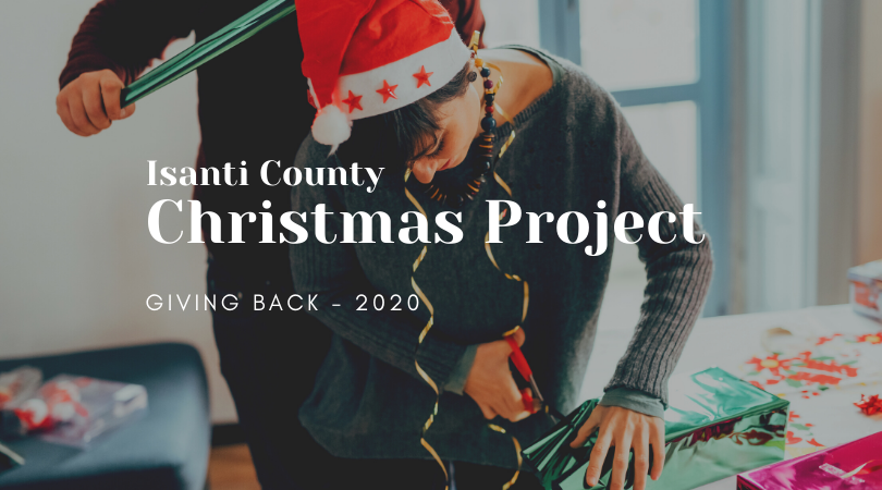 Giving Back - Isanti County Christmas Project