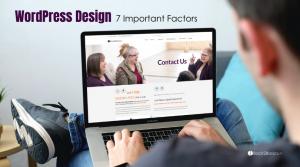 WordPress Website Design Factors
