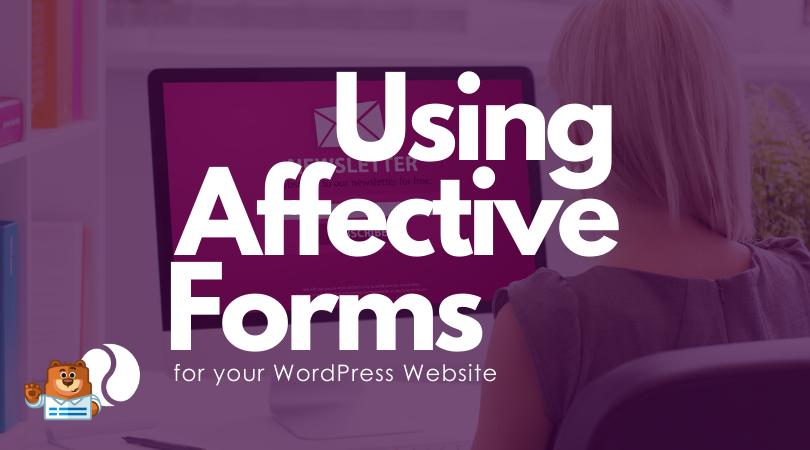 Using WPForms on Your WordPress website